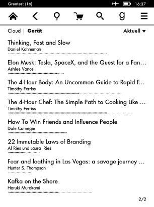 My Kindle Page 2